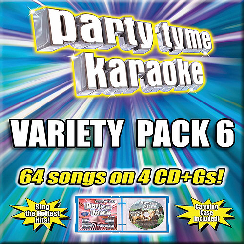 Party Tyme Karaoke: Variety Pack 6 (4CD)