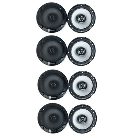 Kenwood 300 Watt 6.5-Inch Coaxial 2 Way Car Audio Speaker (1 Pair) (4