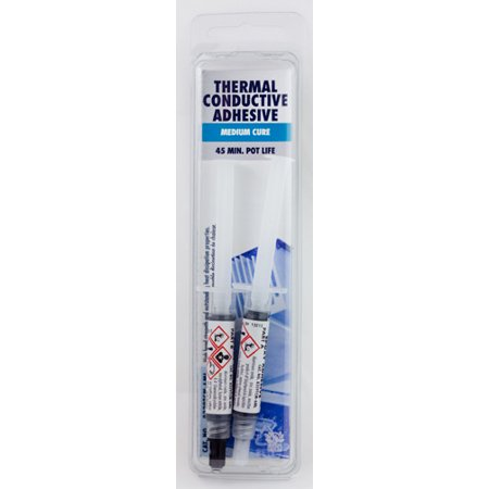 MG Chemicals 8329TCM-6ML Thermal Conductive Epoxy, Medium Cure