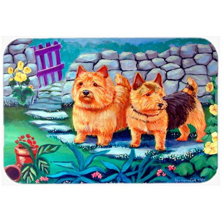 carolines treasures norwich terrier kitchenbath mat