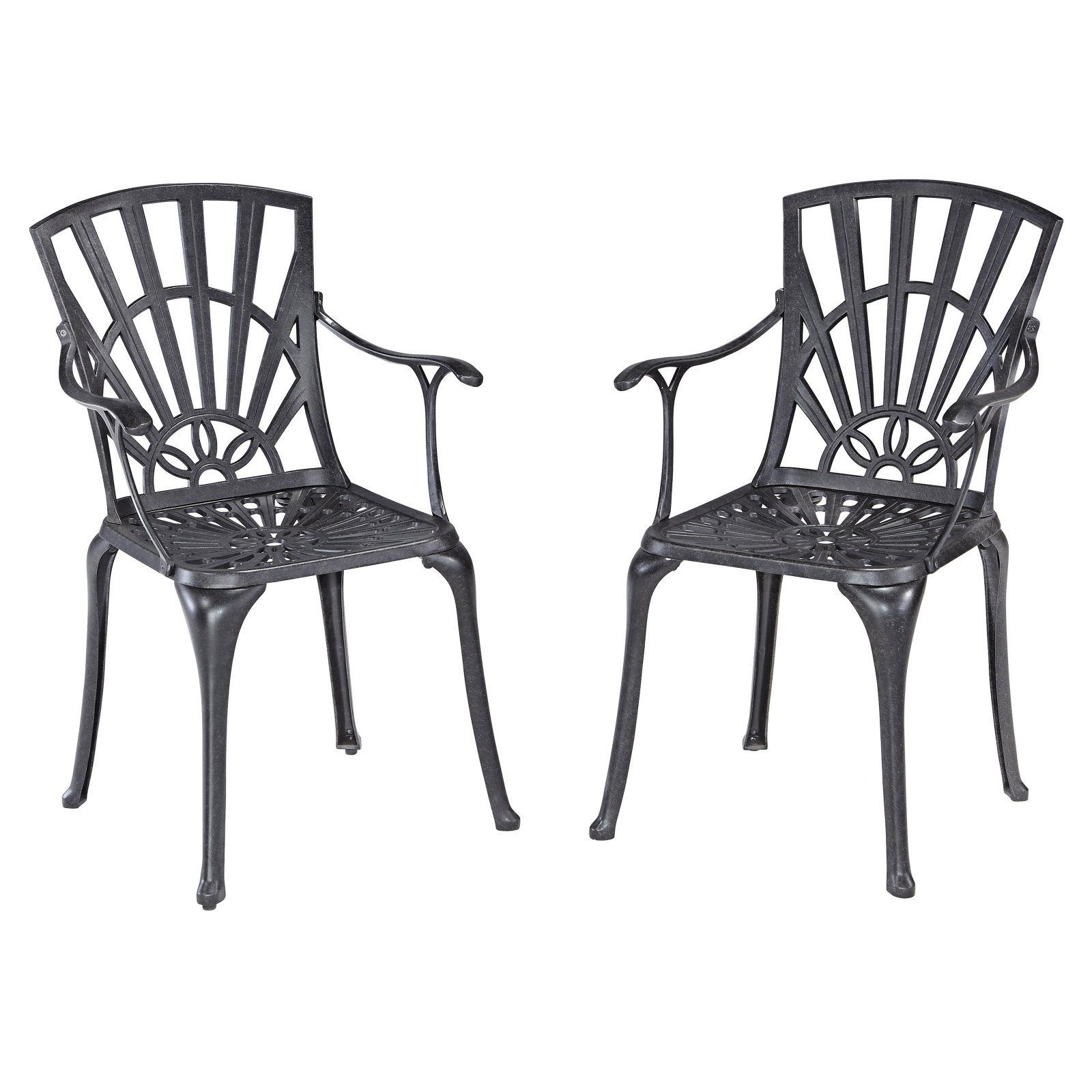 Largo Dining Chair Pair w/ Cushions
