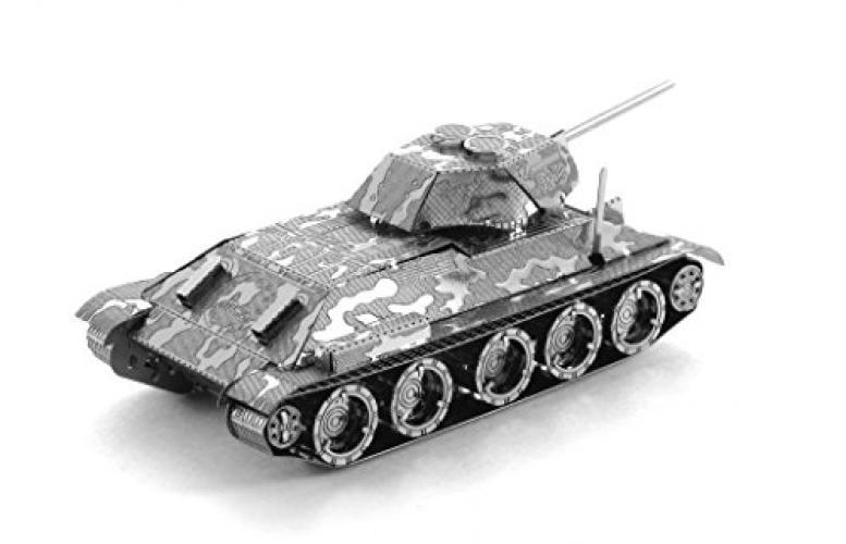 Fascinations Metal Earth T-34 Tank 3D Metal Model Kit by Metal Earth