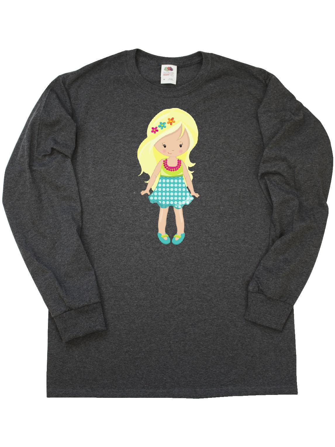Fashion Girl Blue Jacket Baby T-Shirt inktastic African American Girl