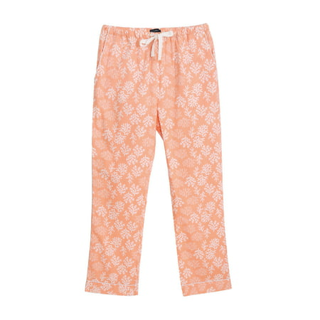 Stretch Cotton Womens Lounge Pants (Twin Boat Women's 100% Cotton Poplin Lounge)