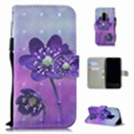 factory price f2959 10925 For Samsung Galaxy S8 Plus,Dteck PU Wallet Leather ID Cash Credit Card  Slots Holder Carrying Folio Flip Cover & Kickstand With Handle Strap,Purple  ...
