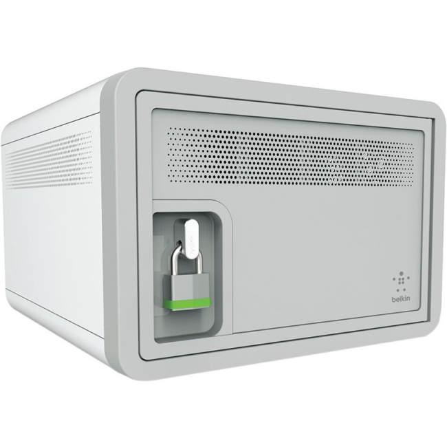 Belkin Secure and Charge Charging Cabinet w  Surge Protection by Belkin