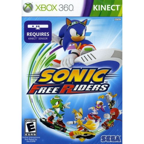 Sonic Free Riders (Xbox 360/Kinect)