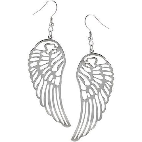 Brinley Co. Sterling Silver Dangle Earrings, Cut-Out Wings