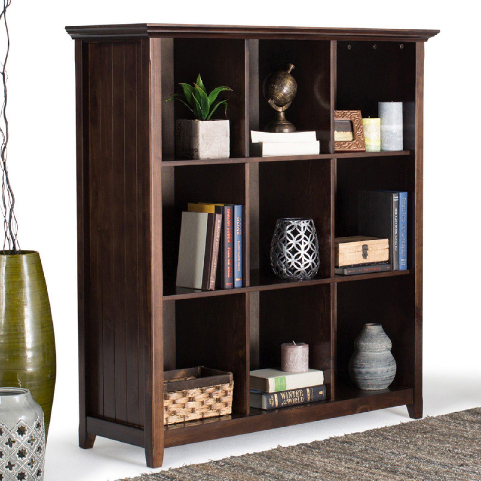 Simpli Home Acadian 9 Cube Bookcase & Storage Unit