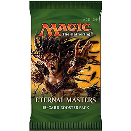 MTG Magic Eternal Masters Booster Pack PREORDER Ships On June 10th, Eternal Masters collects some of the most sought-after cards from throughout Magic's.., By Magic the