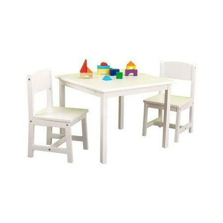 Kidkraft aspen table and chair set natural | Compare Prices at Nextag