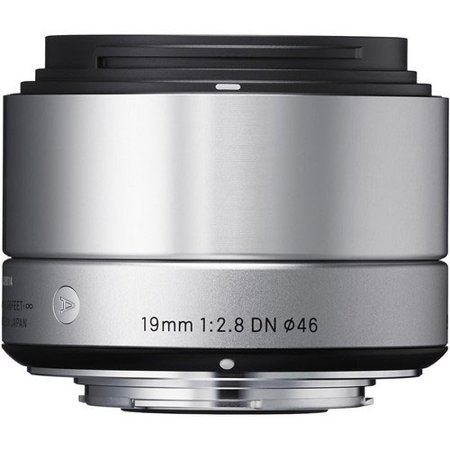 Sigma 19mm f/2.8 DN Lens Sony E-mount - Silver (Sigma 19mm F2 8 E Mount Review)