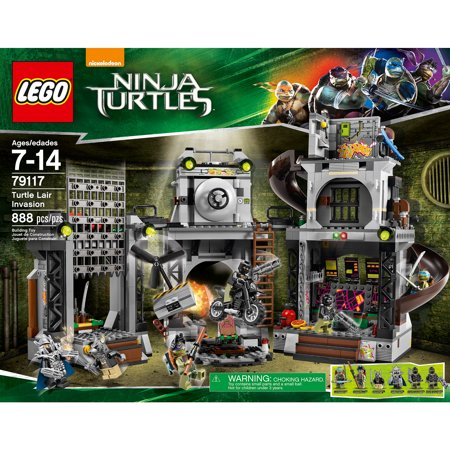 lego nickelodeon ninja turtles turtle lair invasion. Black Bedroom Furniture Sets. Home Design Ideas