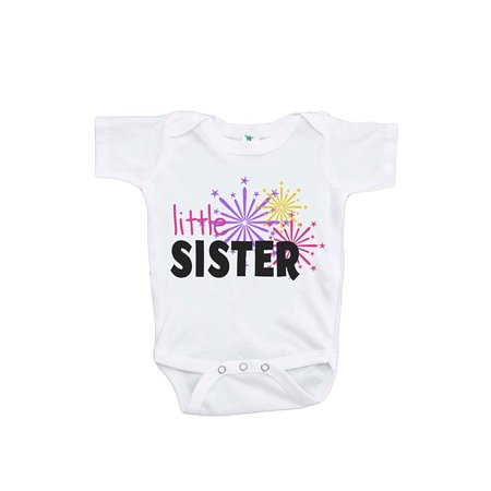 custom party shop babys little sister happy new year onepiece 3 6 month onepiece walmartcom