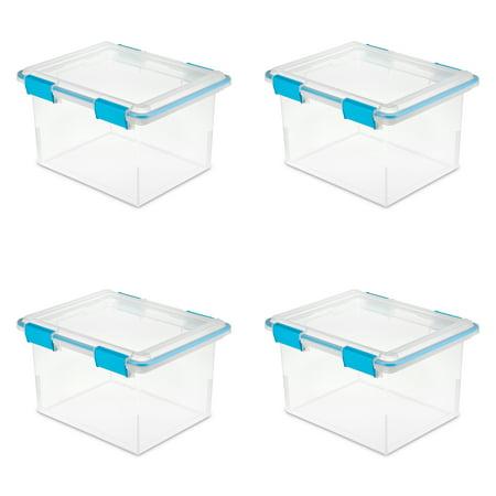 Box Cover Gasket (Sterilite 32 Qt./30 L Gasket Box, Blue Aquarium (Case of 4) )
