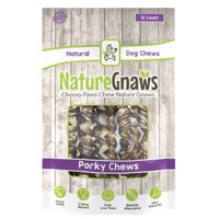 "Nature Gnaws Porky Springs 7-8"", 12 Count"