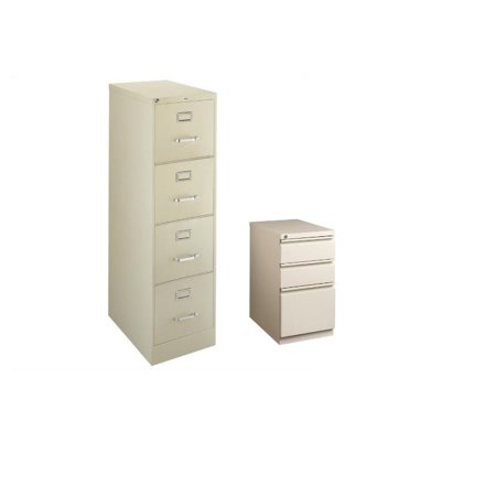 Set of 2 Value Pack 4 and 3 Drawer Mobile Filing