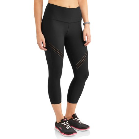 - Avia Women's Active High Rise Performance Filament Insert Capri Legging