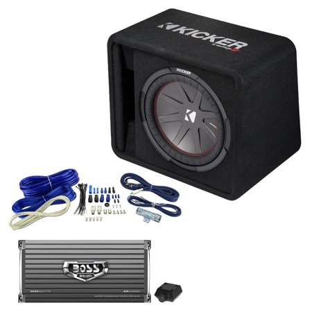 Swell Kicker 12 Inch 1000W Subwoofer Box 2000W Mono Amplifier Remote Wiring 101 Ziduromitwellnesstrialsorg