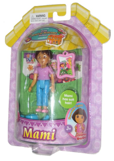 Dora The Explorer Magical Welcome House Poseable Mami Toy Figure Doll by FISHER PRICE