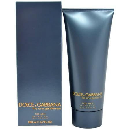The One Gentleman by Dolce & Gabbana Men 6.7oz/200ml Shower Gel Dolce & Gabbana Gel Shower Gel