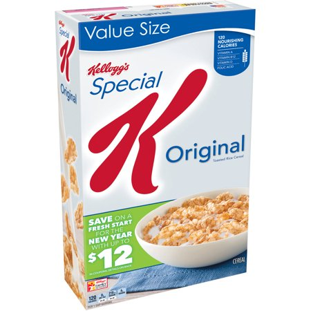 Kellogg's Original Special K Cereal, 18 ounce box ...