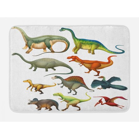 Dinosaur Bath Mat Various Diffe
