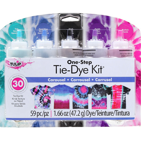 Tulip One Step Tie Dye Kit: Carousel Colors