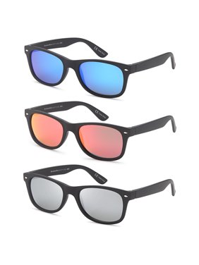 4b1c1cf9232 Product Image GAMMA RAY CHEATERS Best Value Polarized UV400 Classic Style Sunglasses  with Mirror Lens and Multi Pack