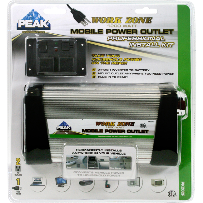 Power Inverter Kit 1200 Watt