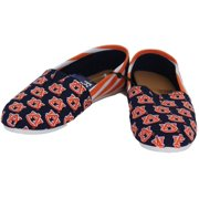 abeea3110 Auburn Tigers Women s NCAA Slip On Canvas Stripe Shoe Slippers