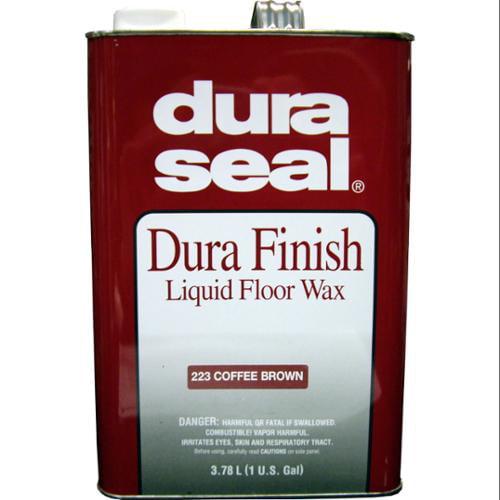 DURA SEAL  Coffee Brown 1gl Durafinish Liquid Floor Wax