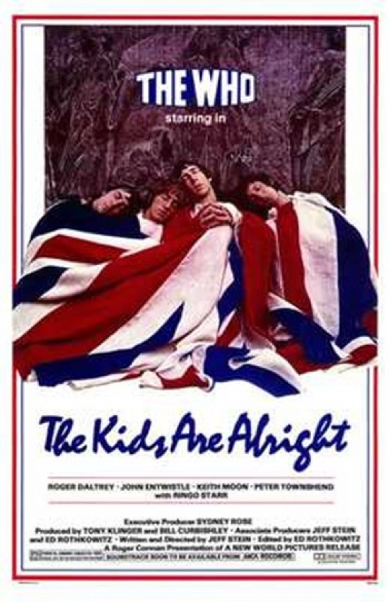 The Kids Are Alright Movie Poster (11 x 17) by Pop Culture Graphics