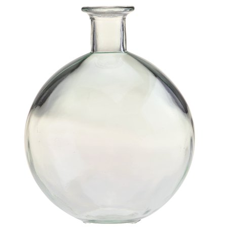 Couronne Globe Glass Vase, G4741, 9.75 inches tall, 121.7 Ounce Capacity,