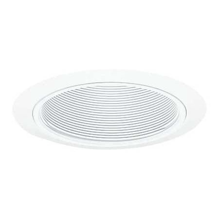 JUNO LIGHTING GROUP - JUNO RECESSED 205 WWH Recessed Trim, 5in, White (7.75 Baffle Recessed Trim)