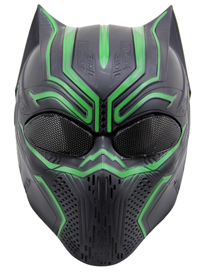 Leopard Animal Shaped Tactical Airsoft Masks Full Face Cosplay Mask For BB Gun CS Game & Party by Outgeek
