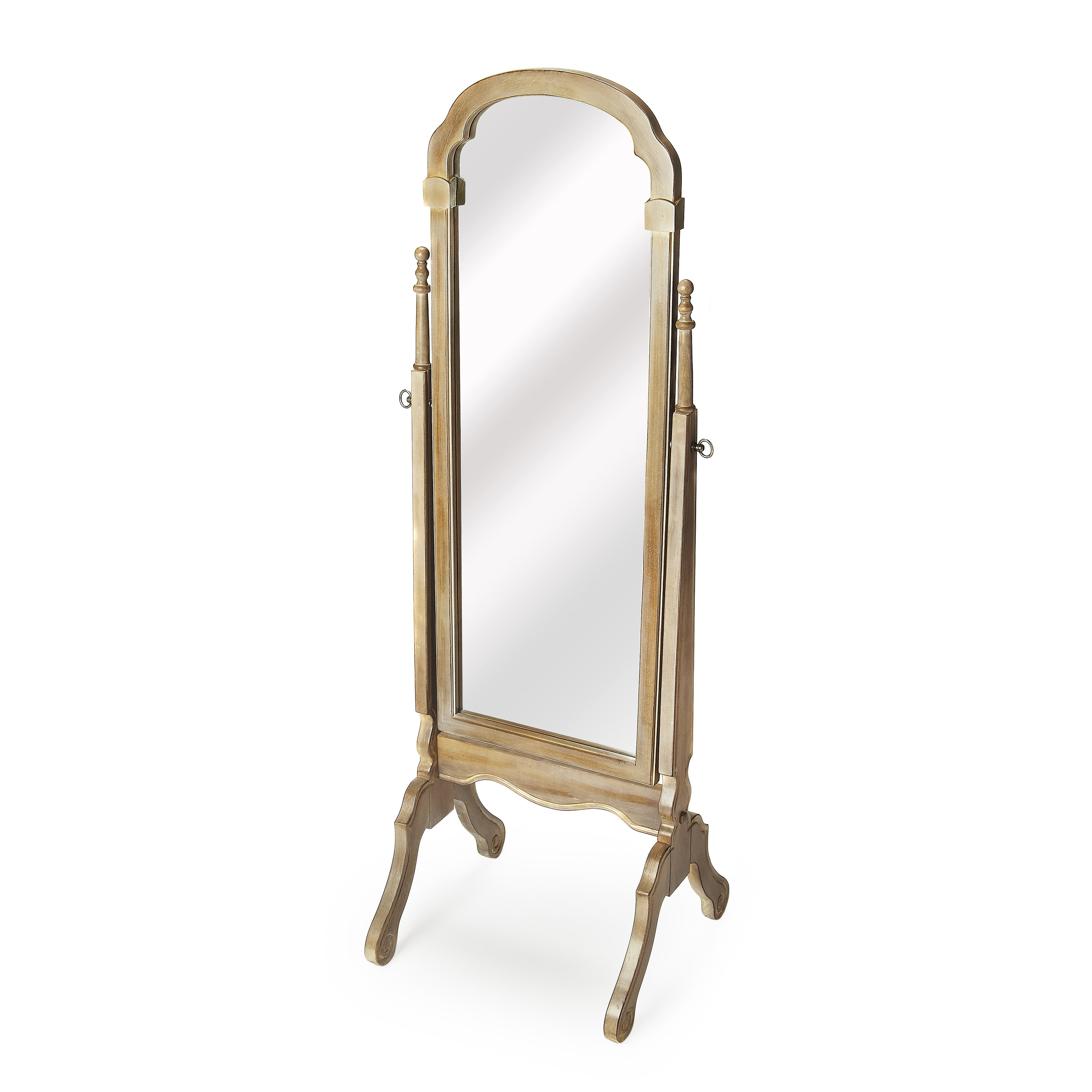 Butler Meredith Driftwood Cheval Floor Mirror by Butler Specialty