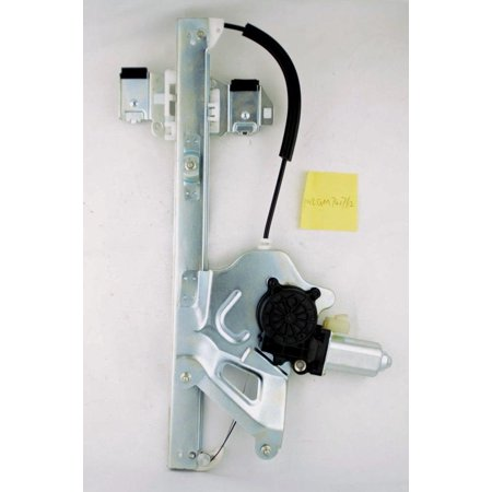 00-05 Buick LeSabre Front Left Driver Side Power Window Regulator With Motor (Side Motor)