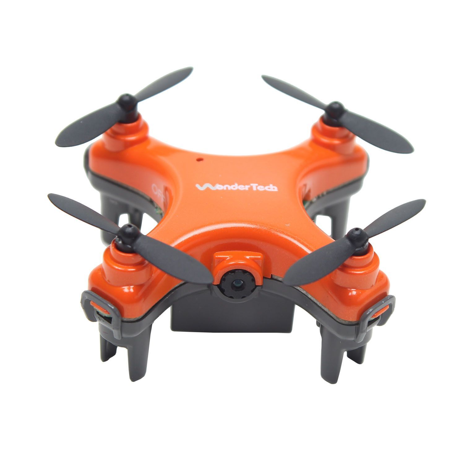 WonderTech Orion Drone with HD Video Camera and Free Bag (Assorted Colors) - Orange