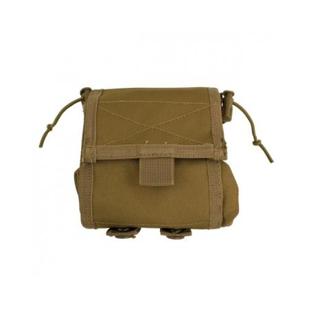 MOLLE Folding Ammo Dump Pouch - Coyote
