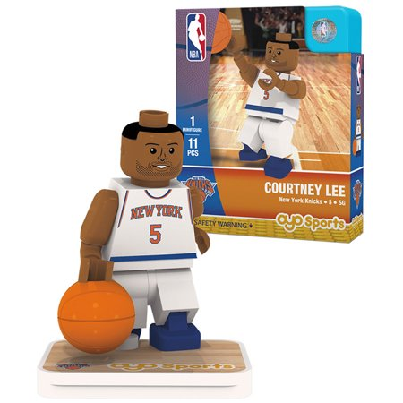 Courtney Lee New York Knicks OYO Sports Home Jersey Player Minifigure - No (New Jersey Mint)