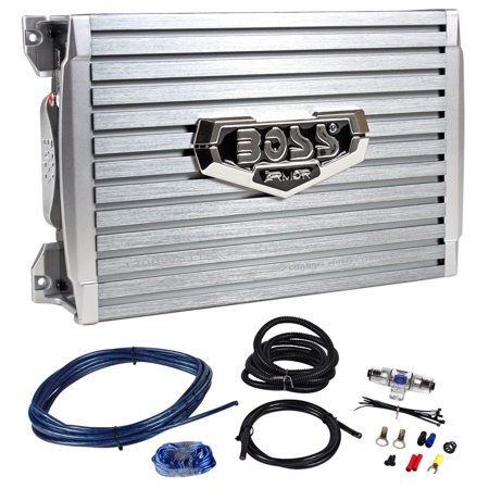 Boss Armor AR1200.2 1200 Watt 2-Channel Car Audio Amplifier+Level Remote+Amp (Sony Xplod 1200 Watt Amp Wiring Diagram)