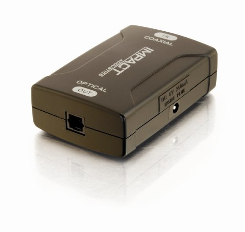 Cables To Go 40018 Coax To Toslink Digital Audio Converter
