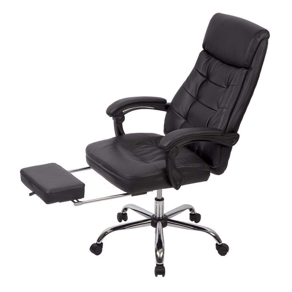 Recliner Office Chair PU High Back Executive Chair Desk