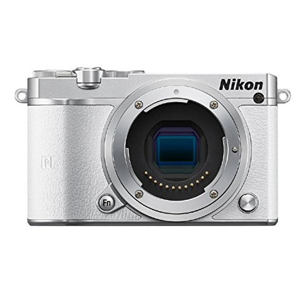 Nikon 1 J5 Mirrorless Digital Camera (White Body Only) (Intl Model)