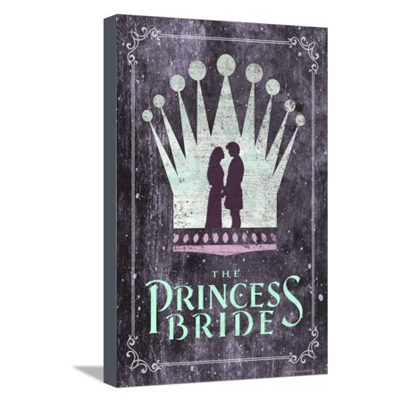 The Princess Bride Crown Stretched Canvas Print Wall Art