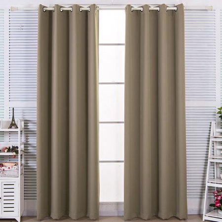 Red Barrel Studio Browne Solid Blackout Thermal Grommet Curtain