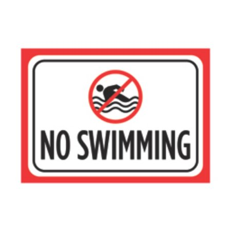 Aluminum Metal Warning Pool Chemicals Large Black Yellow Print Picture Symbol Poster Caution Public Safety Not,