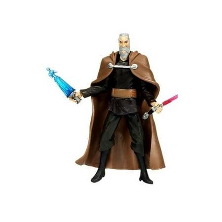 Count Dooku CW27 Star Wars Clone Wars Action Figure