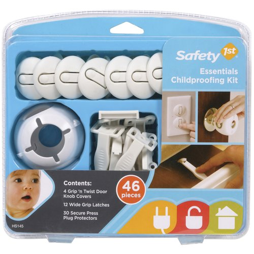 Safety 1st Essentials Baby Proofing Kit, 46 Pieces
